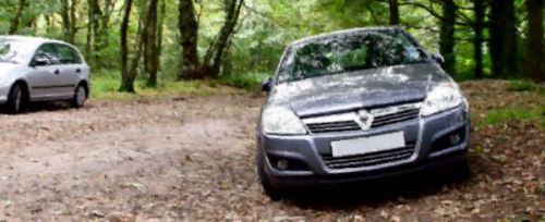 Vauxhall Astra at Rivington