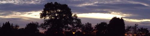 sunset - Lancashire - 07:35pm 21 Setember 2009