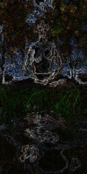 meditation abstract