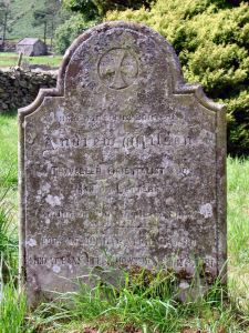 The grave of Andrew Wilson - Martindale