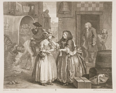 moll - william  hogarth