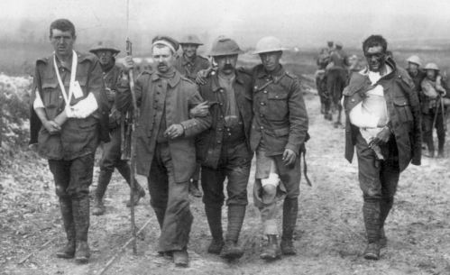 british and german casualties ww1 - wikipedia - Photographer Ernest Brooks