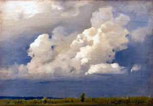Before the Storm (Clouds) by Isaac Ilich Levitan (1860-1900)