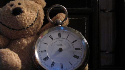 fingerless watch