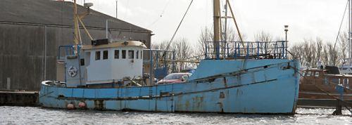 old trawler glasson basin