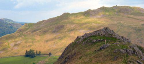 on the beda fell ridge