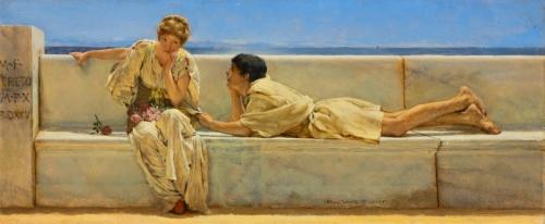La Pregunta Lawrence Alma-Tadema