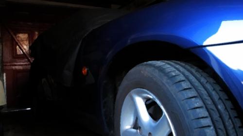 Mazda under cover