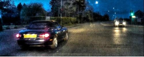 mazda night journey HDR