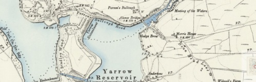 yarrow reservoir map